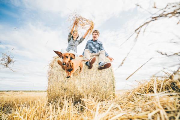 廃棄予定の麦わらから洋服をつくるフィンランドのエネルギー会社「Fortum」