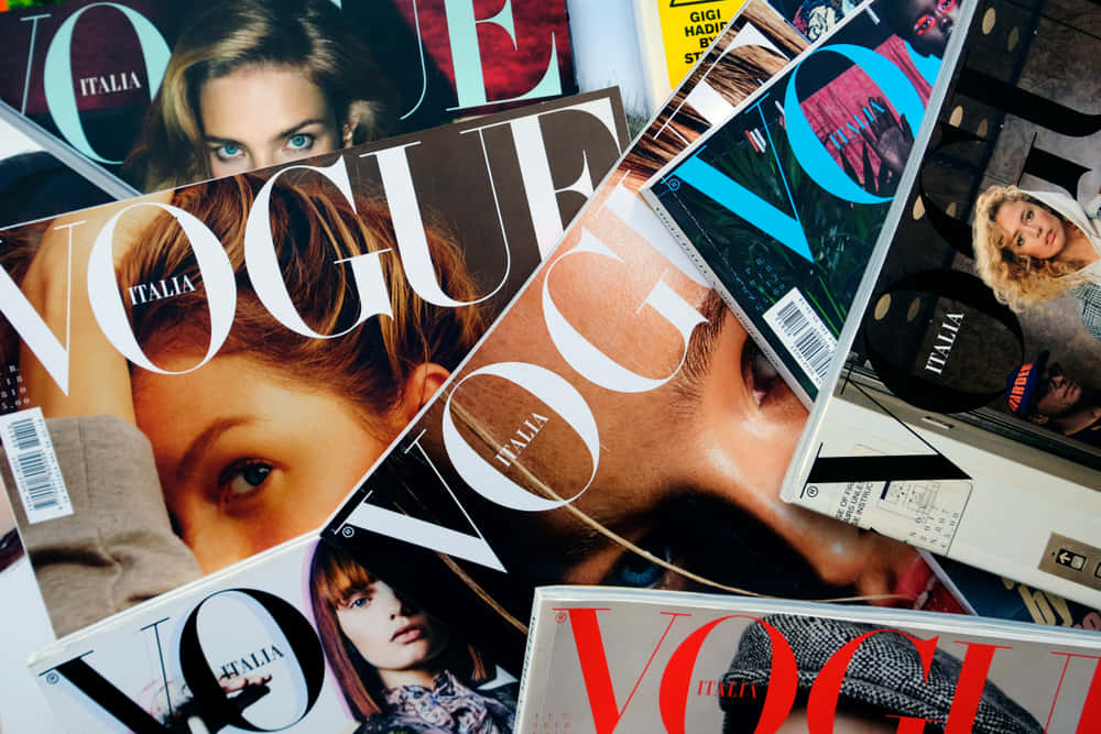 写真なし。ファッション誌のサステナビリティ問う『Vogue』イタリア版