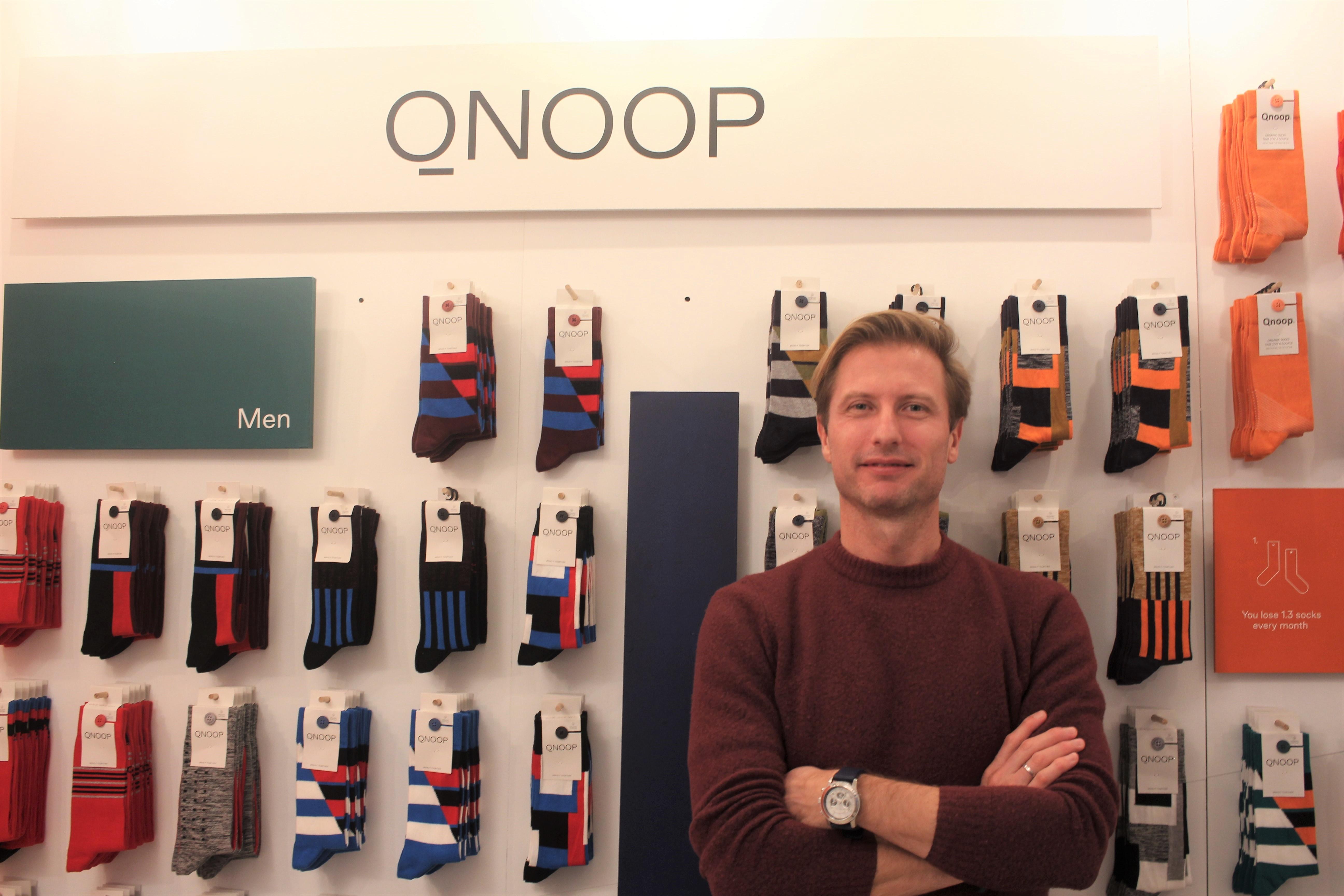 片方ない!をなくす靴下ブランド「Qnoop」