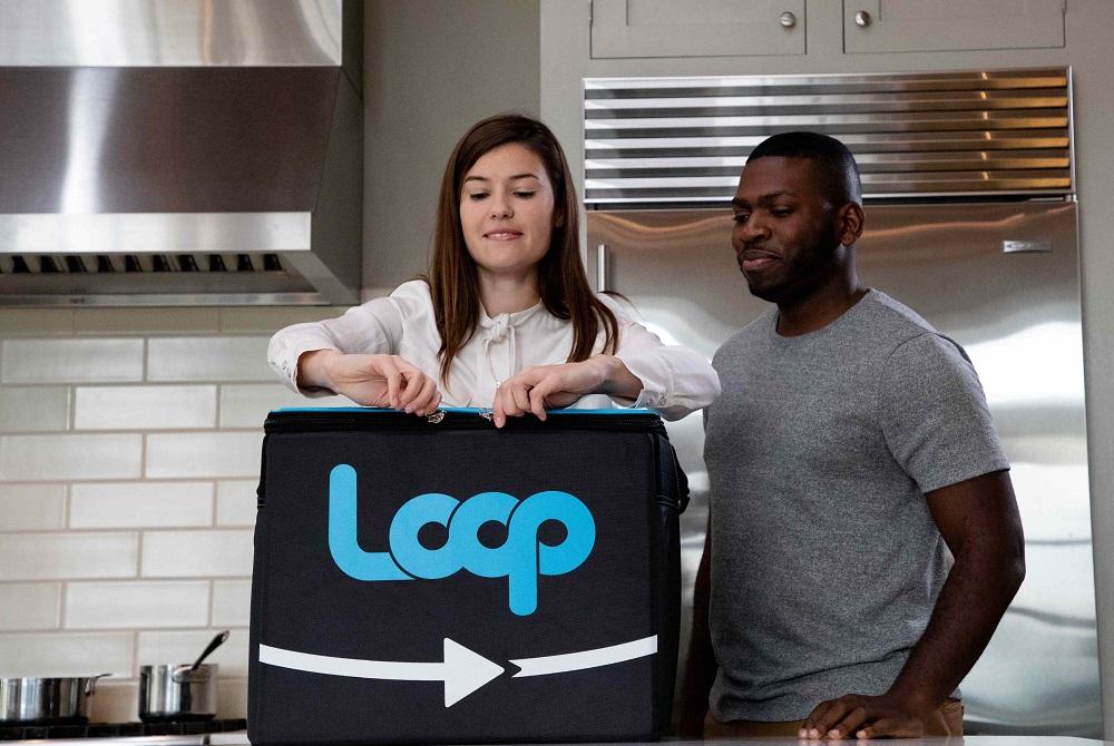 Loop専用の配達バッグ