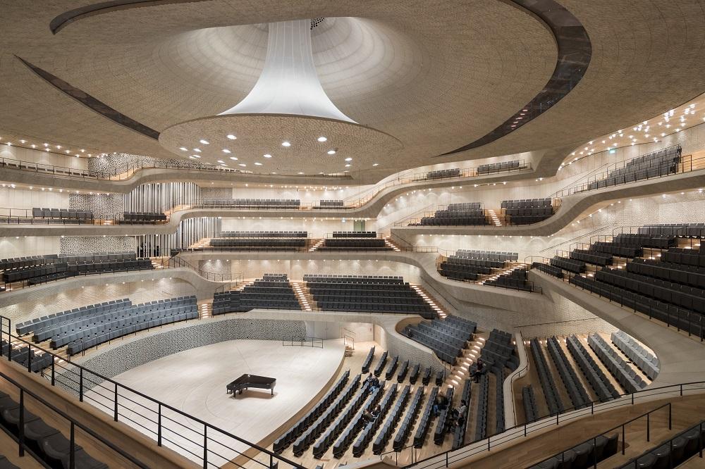 ハンブルクのElbphilharmonie
