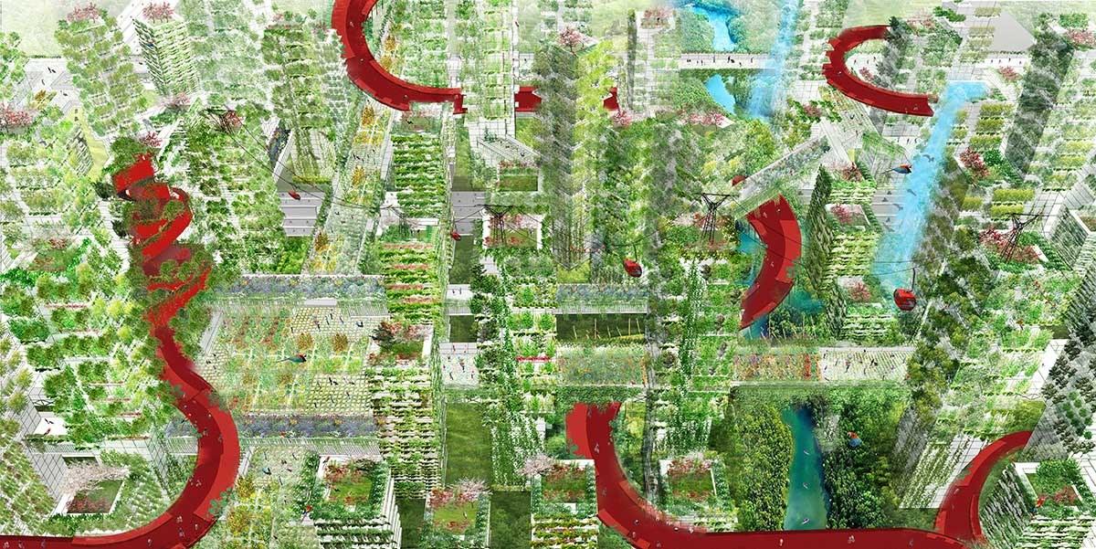 都市を丸ごと森にする計画