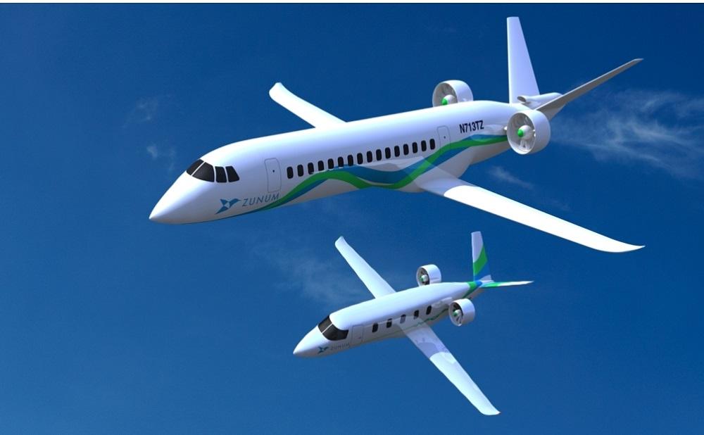 電気で飛ぶ飛行機
