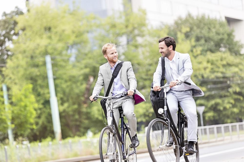 自転車に乗れば乗るほど報酬がもらえる社員向けアプリ「ByCycling」
