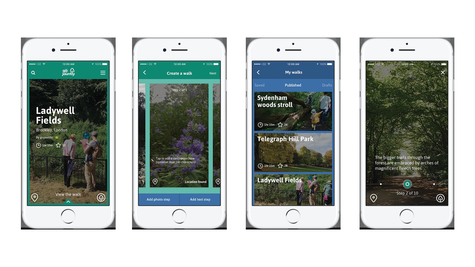 ロンドンを歩くのを楽しくするアプリ