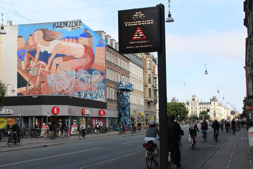 コペンハーゲンの自転車ユーザー