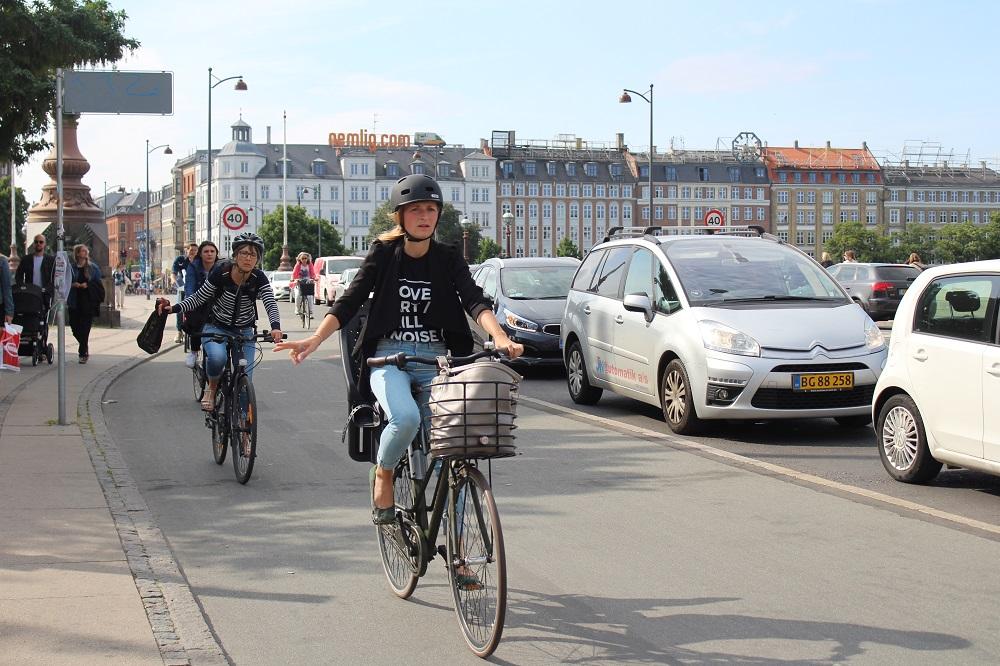 サイクリストが行き交う街、コペンハーゲン