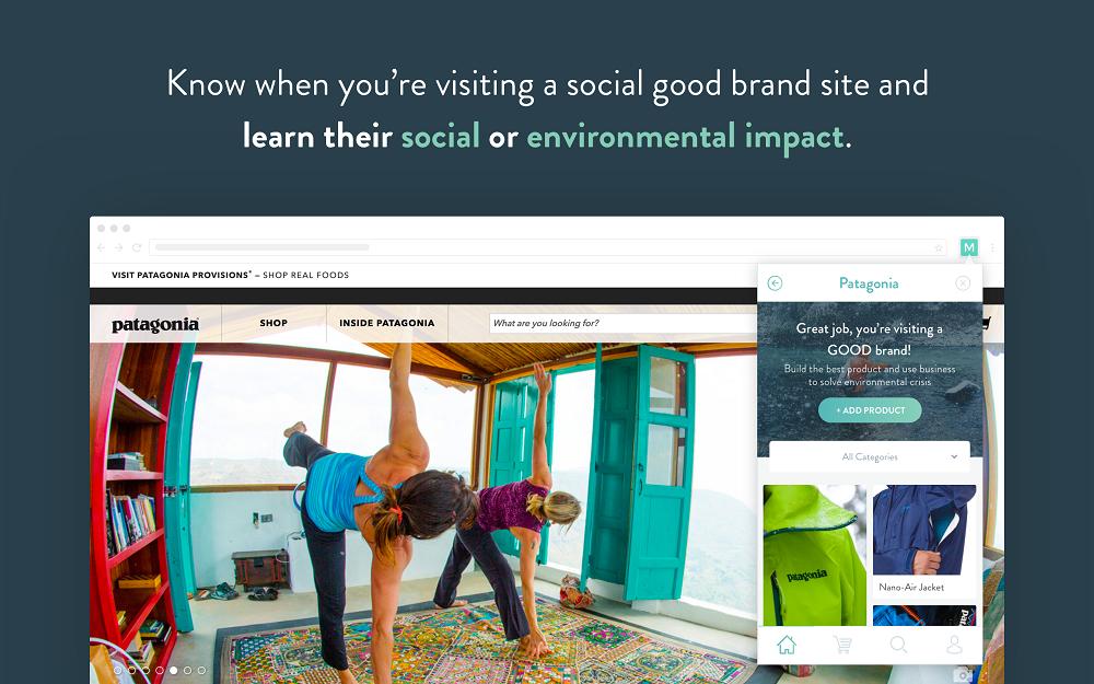 ソーシャルグッドな製品とユーザーをつなぐMiigle+