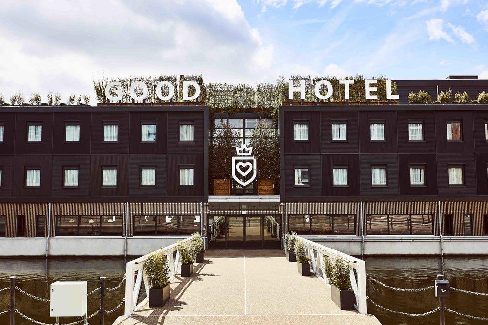 ロンドンに誕生したソーシャルグッドな水上ホテル「Good Hotel」