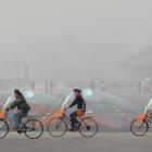 中国の大気汚染に立ち向かう。空気を清浄する自転車のシェアリングサービス