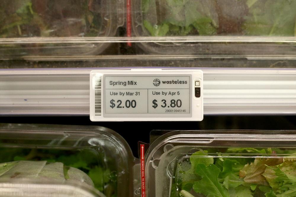 消費期限に応じて価格をリアルタイムに変える
