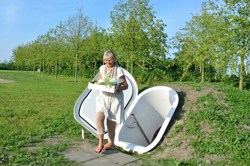 消費電力100分の1。オランダ生まれの地下式エコ冷蔵庫「Groundfridge」