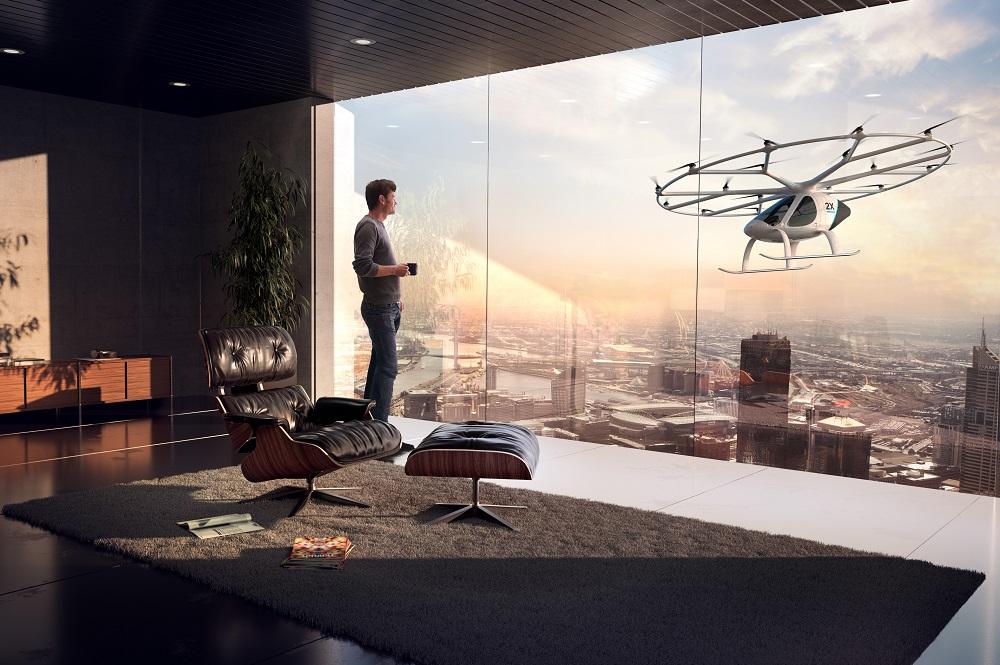 無人操縦ヘリコプタータクシー