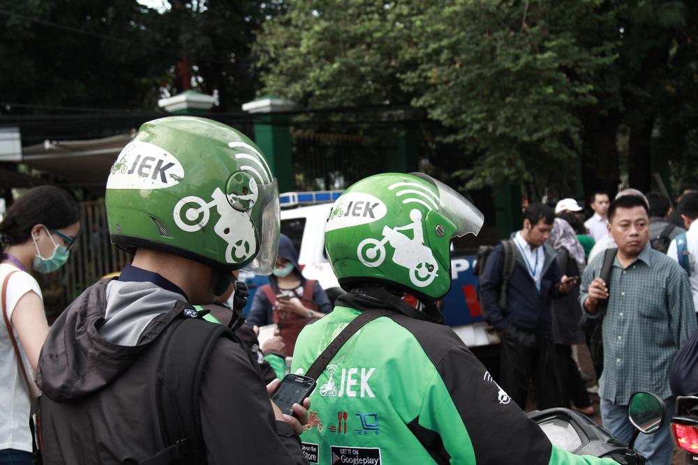 バイクタクシー配車アプリ「Go-Jek」