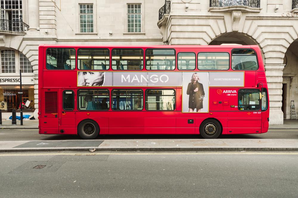 コーヒーを燃料にして走るロンドンバス