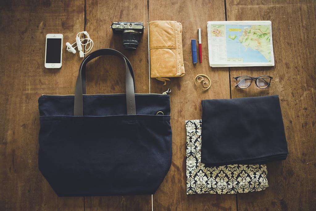 エシカルブランドSALASUSUのバッグ
