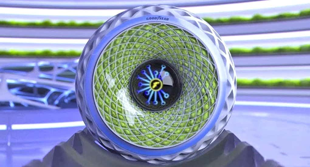 未来の循環型社会へ。走れば走るほど空気を綺麗にする苔のタイヤ「Oxygene」