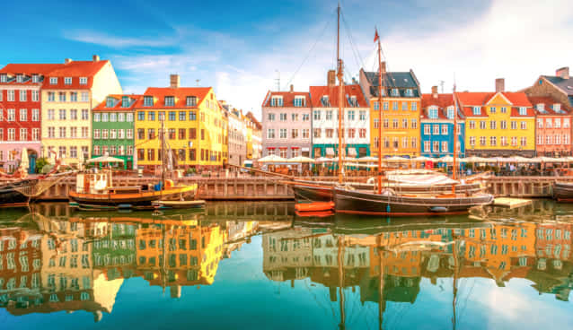 コペンハーゲンのニューハン