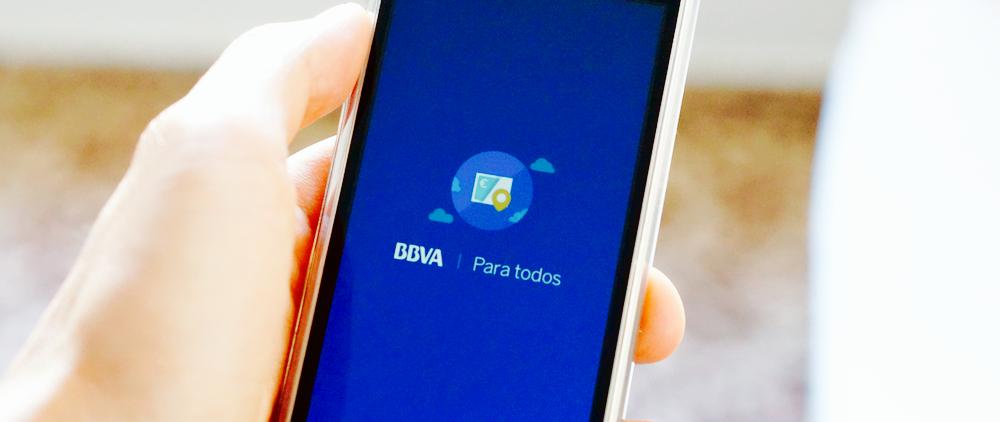 視覚障がい者のための銀行アプリ「BBVA para todos」
