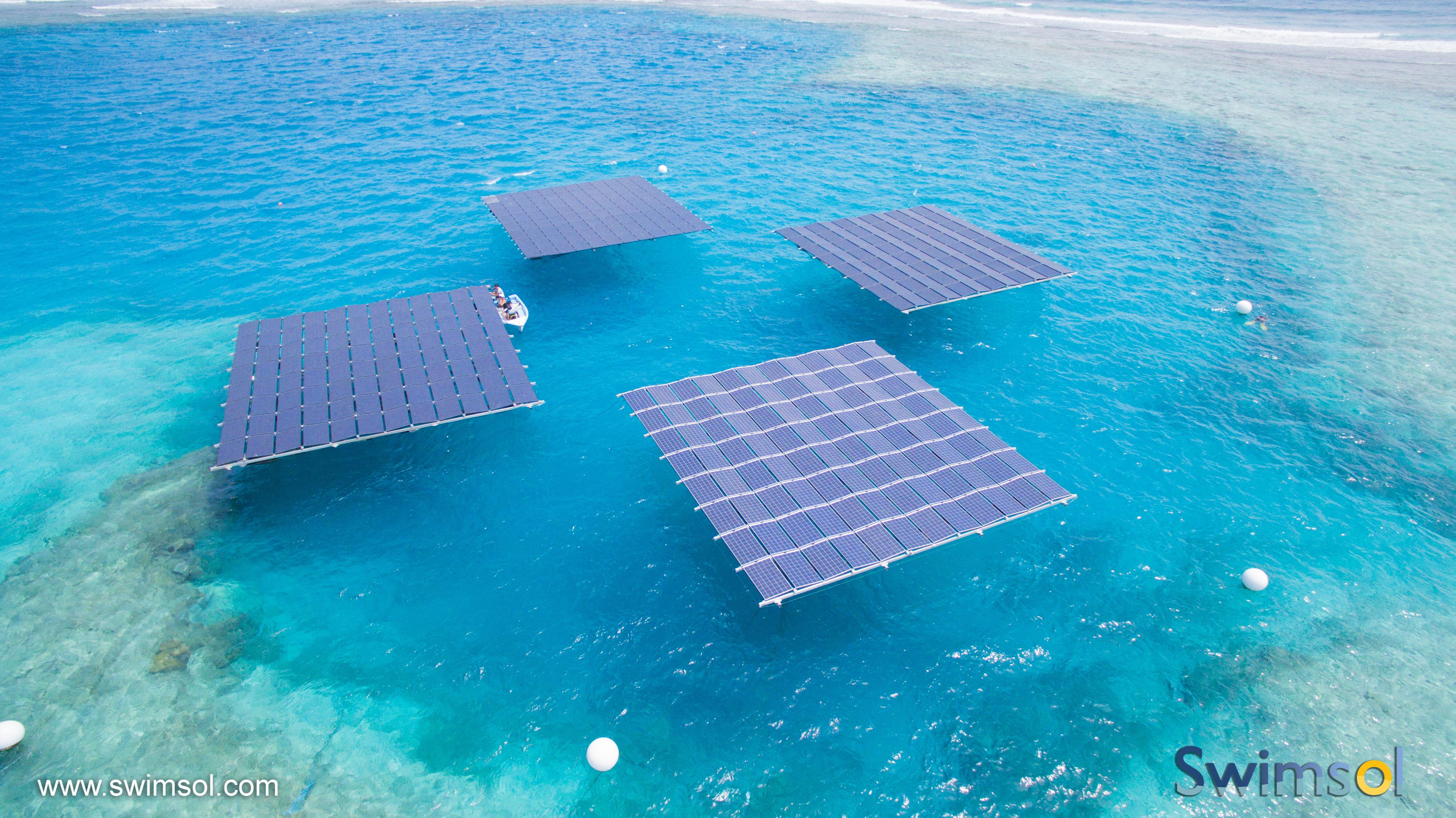 モルディブの太陽光発電システム