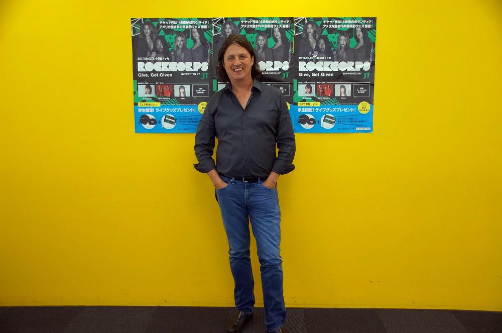 RockCorpsのCEO、Stephen Greene(スティーブン・グリーン)