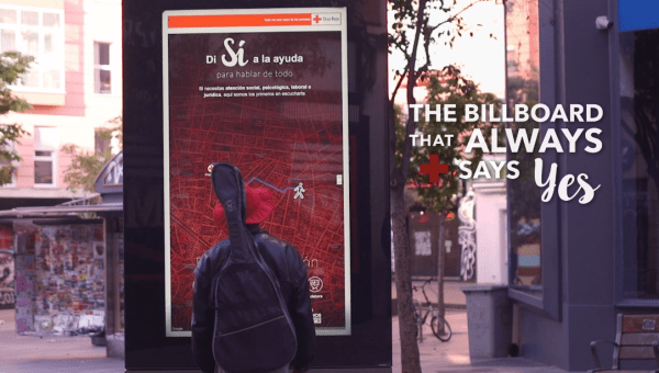 社会とつながるきっかけに。ホームレスに手を差し伸べるデジタル掲示板
