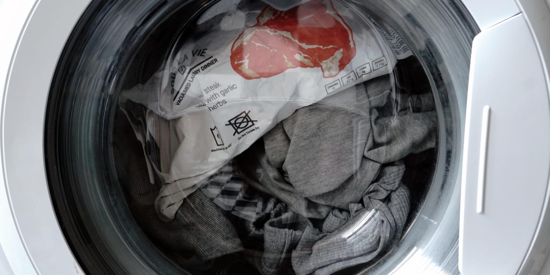 イスラエルの学生が考えた、洗濯機で調理する真空ミール「Sous La Vie」