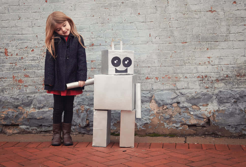 自閉症児の不安を軽減する、表情豊かなソーシャルロボット「QTrobot」
