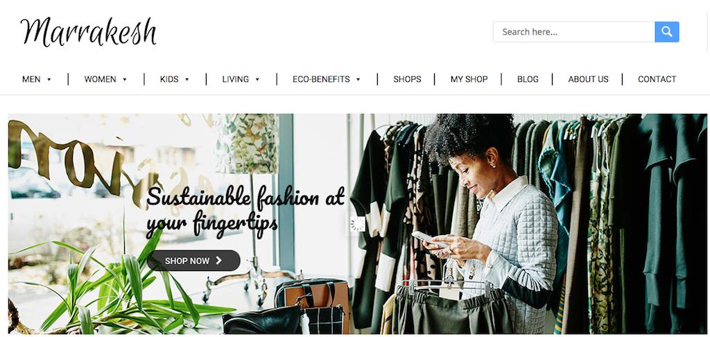 エシカルファッションを探せるECサイト