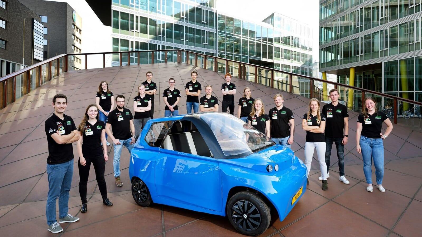 世界初、オランダの大学が開発した「オーガニックな車」