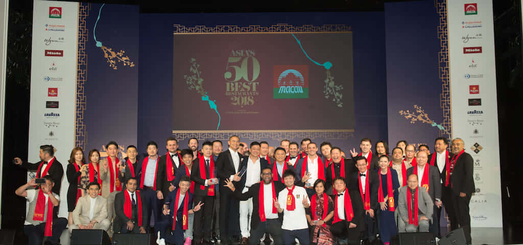 2018年度授賞式の様子