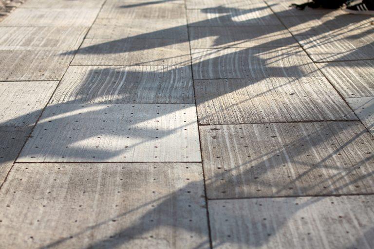 デンマークの歩道