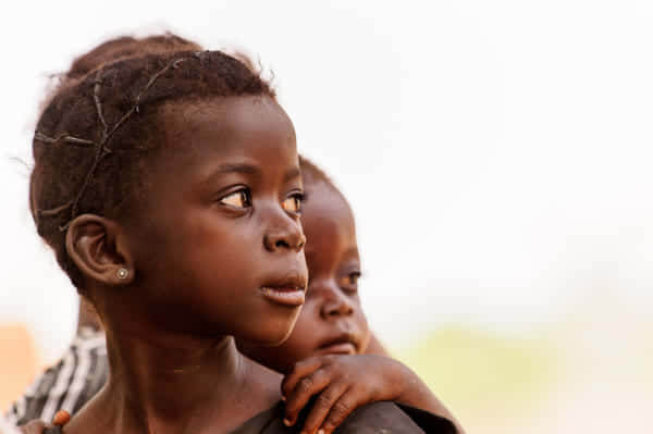 アフリカの女の子