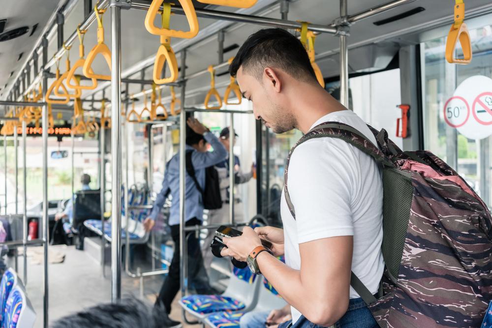 ペットボトルごみ持参でバス乗車券と交換できるインドネシアの取り組み