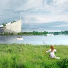 スキーが楽しめる、環境と市民にやさしいデンマークのオシャレな火力発電所