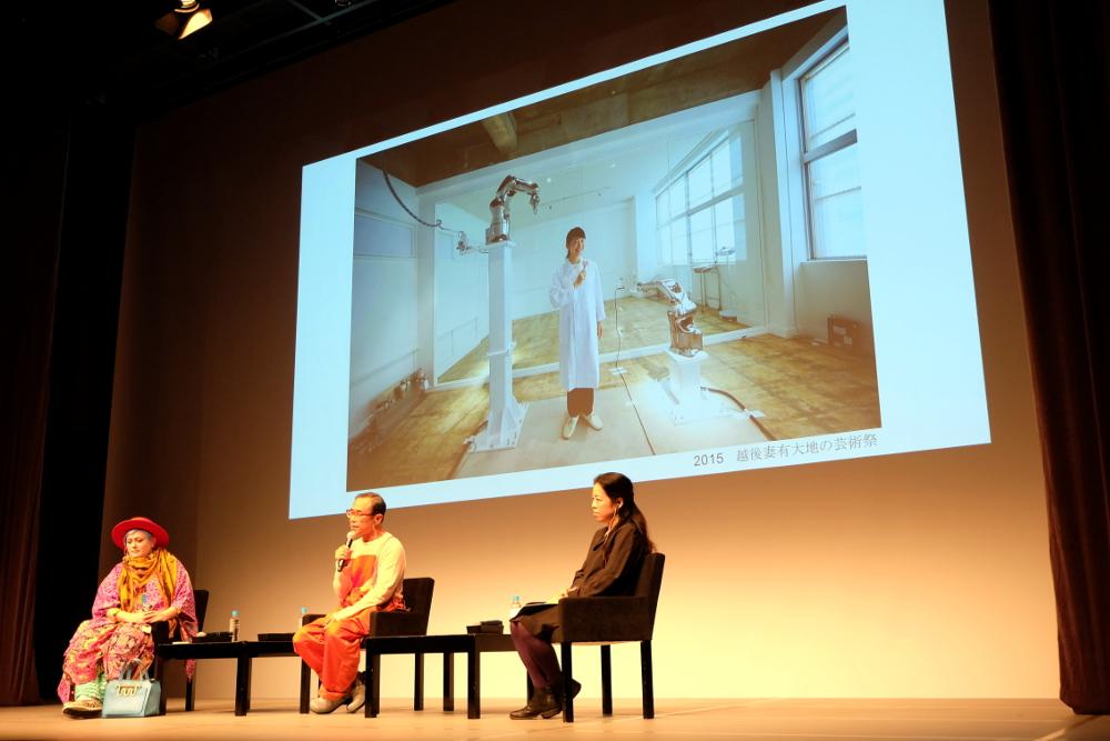 2015年「越後妻有大地の芸術祭」にて、遠山氏総合プロデュースの企画開催