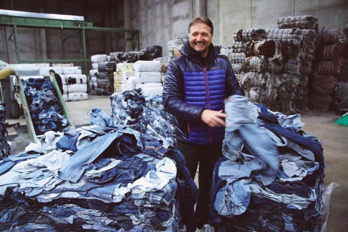 1年後にジーンズを返すと素材が再利用される「MUD Jeans」