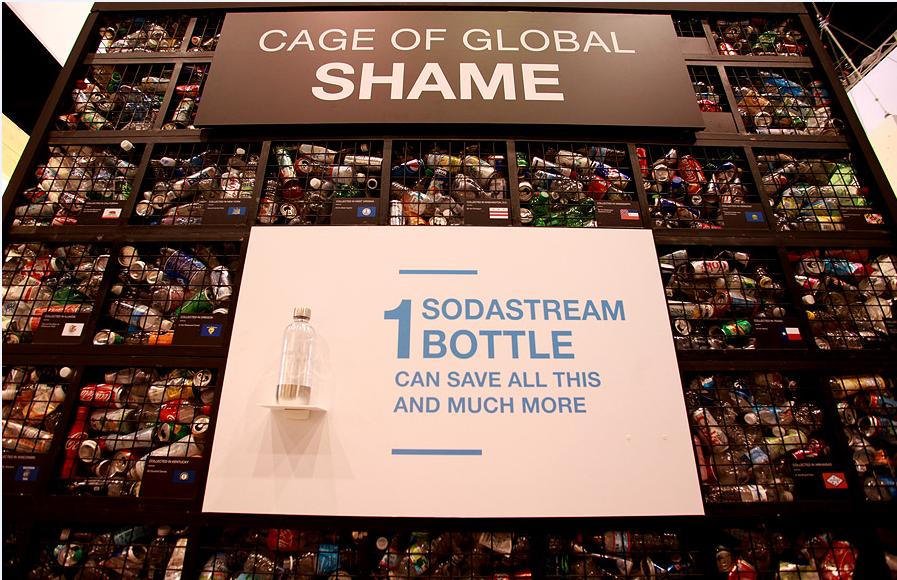世界で消費されるペットボトル