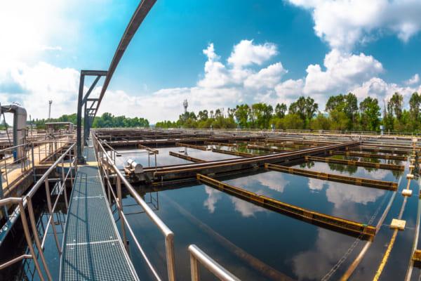 チリの排水処理場