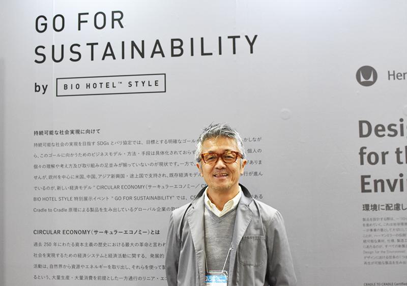 BIO HOTELS JAPAN代表理事・中石和良氏