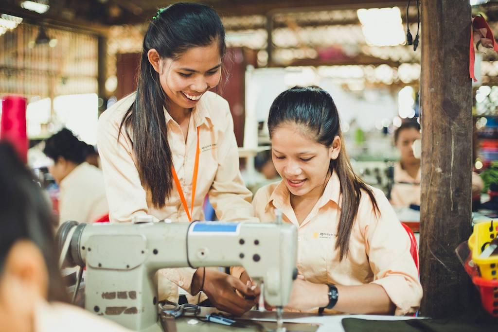 カンボジアのエシカルブランド「SALASUSU」が提供するライフスキルトレーニング