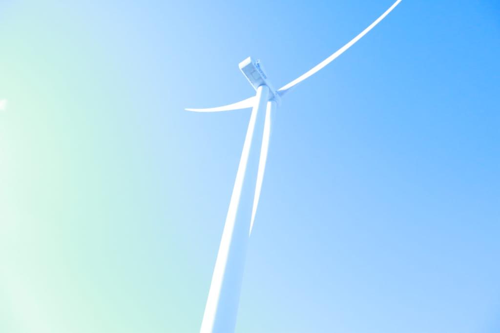 ロラン島の風車