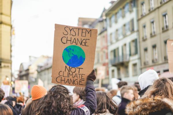 気候変動デモ