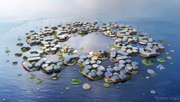 OCEANIX/BIG-Bjarke Ingels Group.