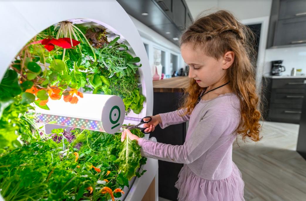 自宅でオーガニック農業が簡単にできるドラム式ガーデニング装置