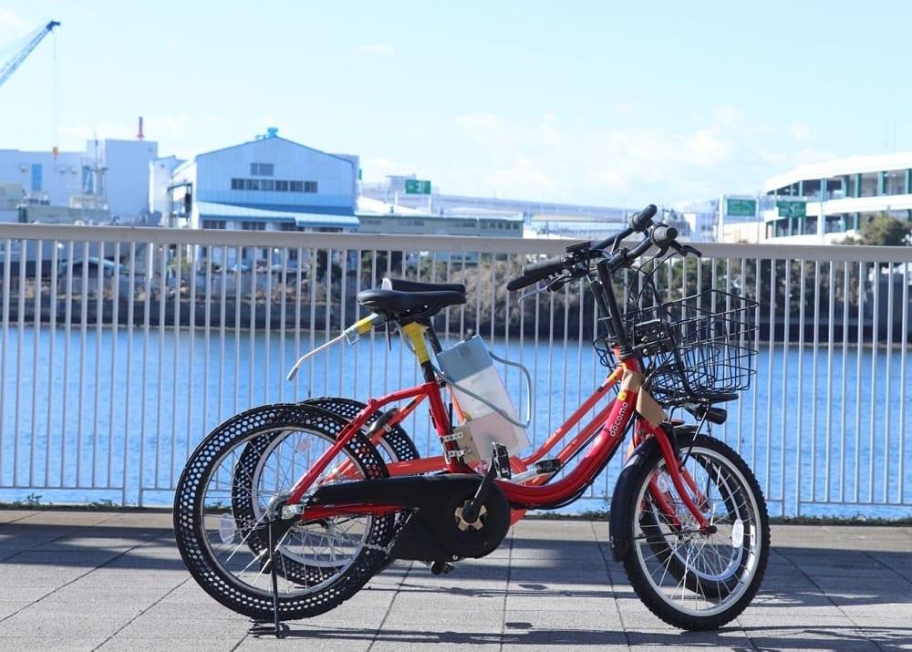 ドコモのスタンプバイク