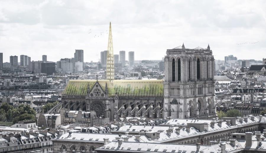 ノートルダム大聖堂再建