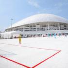 バドワイザー、W杯の廃プラスチックカップで新サッカー場「ReCup Arena」を完成