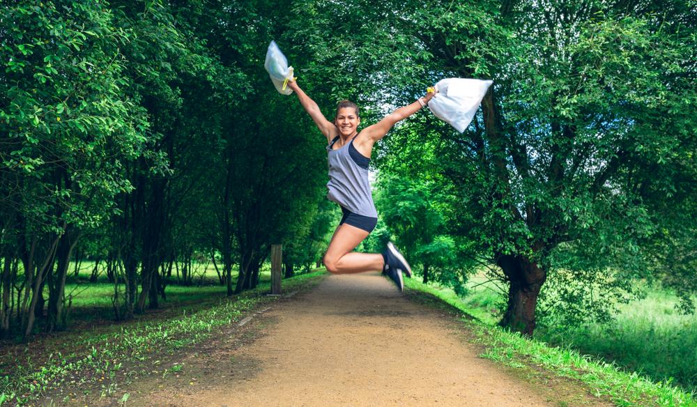 ジョギングしながらごみ拾いする、スウェーデン生まれの「Plogging」