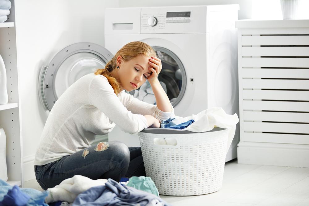 家事に疲弊する女性